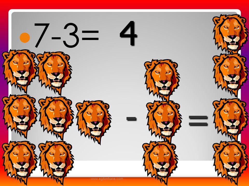  4-2= - = 2...www.egitimhane.com...