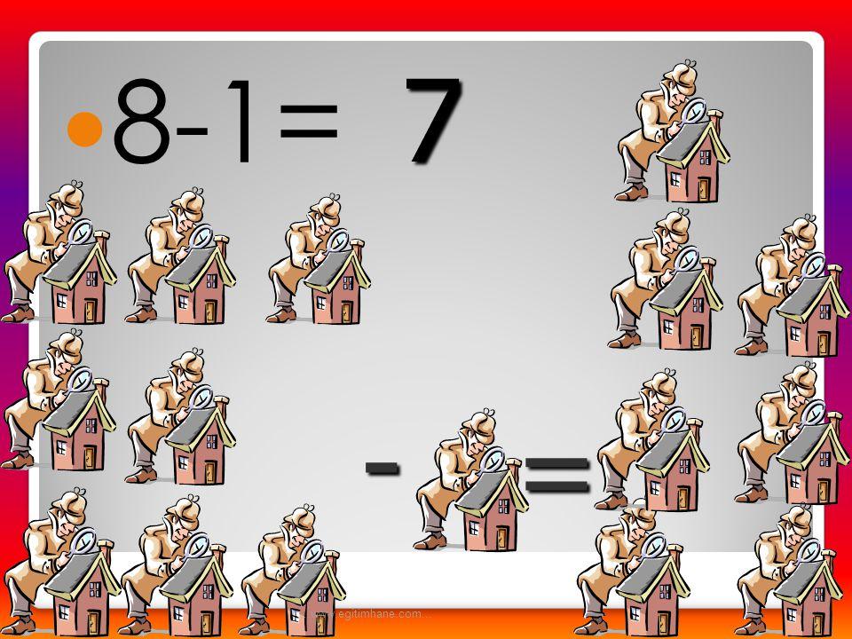  9-3= -= 6...www.egitimhane.com...