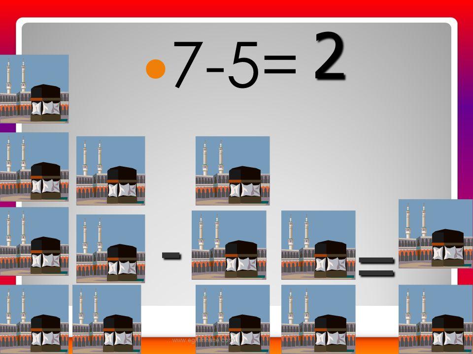  9-6 = - = 3...www.egitimhane.com...
