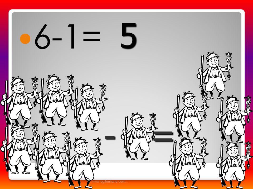  2-1= -= 1...www.egitimhane.com...