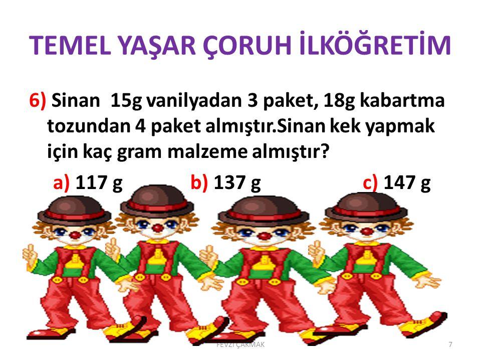 TEMEL YAŞAR ÇORUH İLKÖĞRETİM 11.
