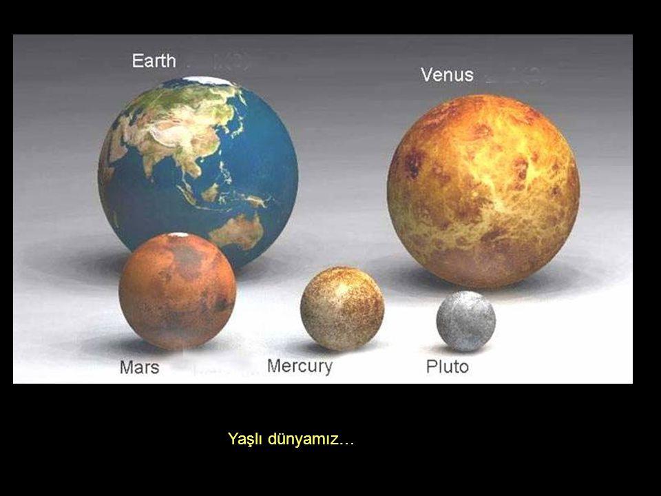 Yaşlı dünyamız…