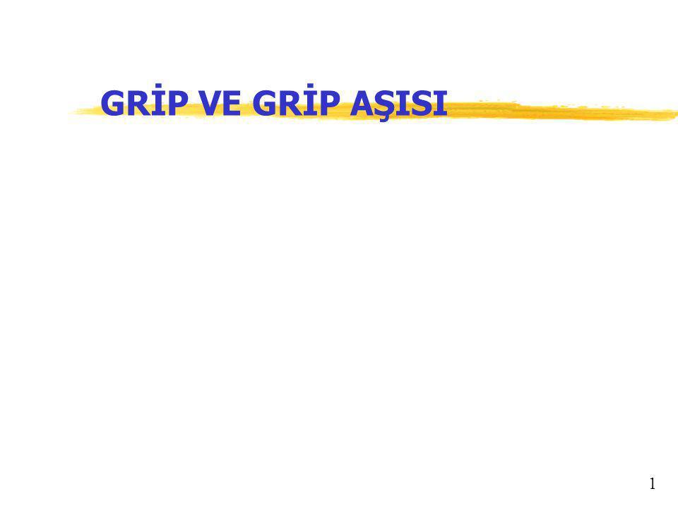 GRİP VE GRİP AŞISI 1