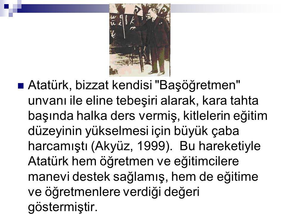  Atatürk, bizzat kendisi