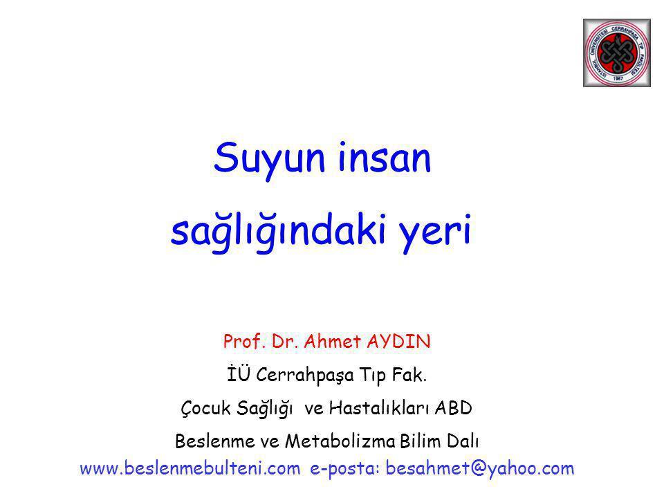 Susuzluk-Ağrı •Histamin ve susuzluk (dehidratasyon) sırasında artan diğer kimyasal maddeler (2.