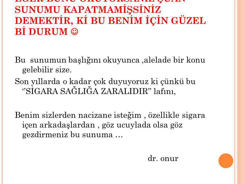 SAYGILARIMLA dr. onur fıstıkoğlu