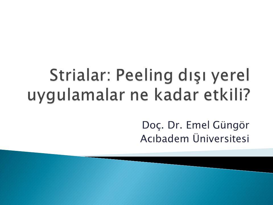 Doç. Dr. Emel Güngör Acıbadem Üniversitesi