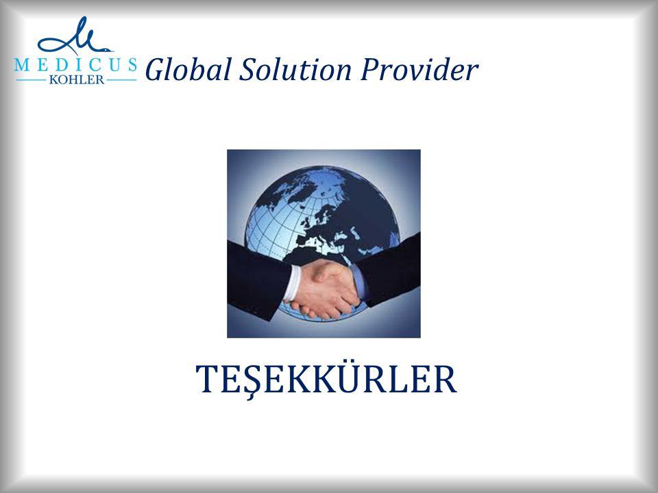 TEŞEKKÜRLER Global Solution Provider
