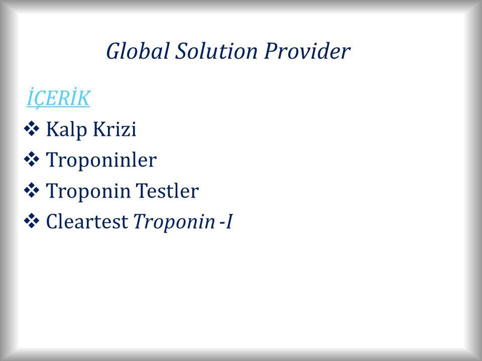 Global Solution Provider TROPONIN TESTLER