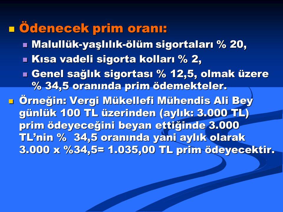 BAĞIMSIZ ÇALIŞAN MÜHENDİSLER 4/A'ya (SSK'YA) PRİM ÖDEYEBİLİR Mİ.