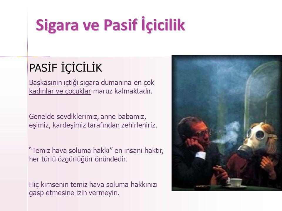 Sigara Alışkanlığı Dünya Sağlık Örgütüne göre ; Sigara içmek bir hastalıktır ve tedavi edilmelidir.