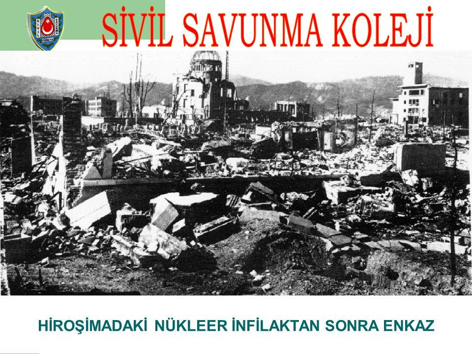 Klasik ve modern silahlar, nükleer silahlar, biyolojik ve kimyasal harp maddelerinin tesirlerinden ve doğal yıkımlardan insanlarla, insanların yaşamas