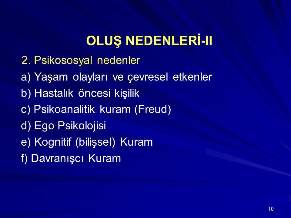 10 OLUŞ NEDENLERİ-II 2.