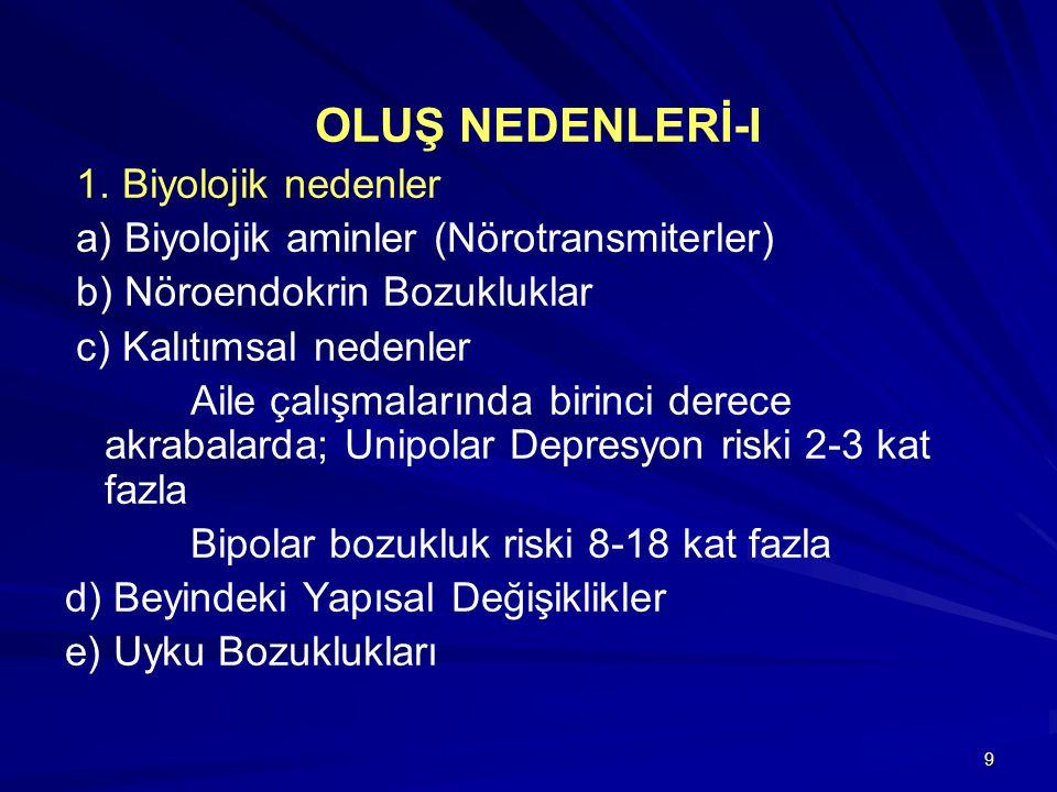 9 OLUŞ NEDENLERİ-I 1.