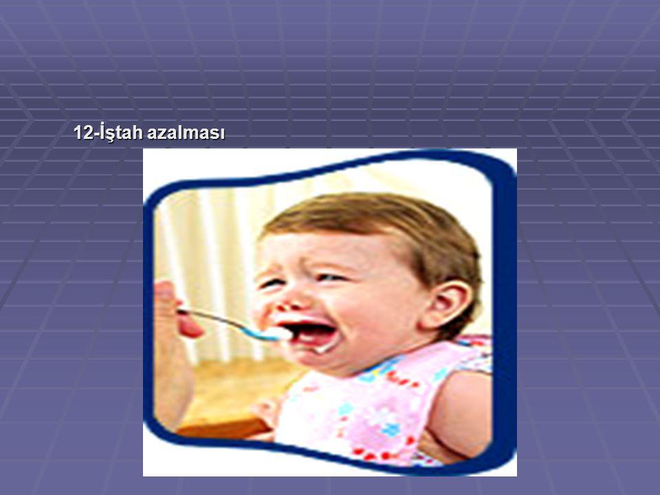 12-İştah azalması