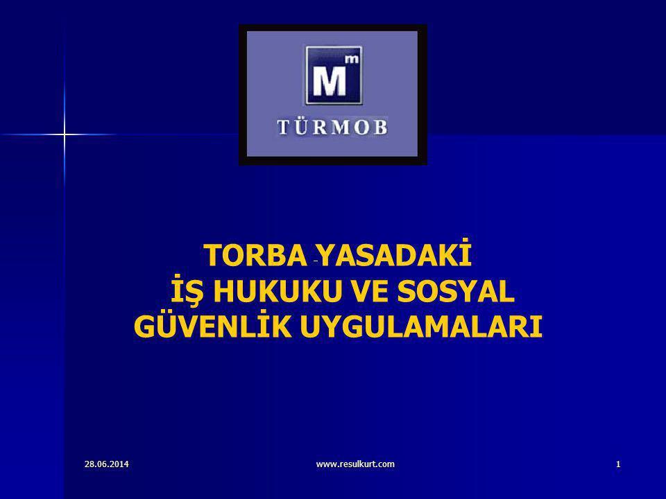 28.06.2014www.resulkurt.com22   Taksitle yapılacak ödemelerinde ilgili maddelere göre belirlenen tutar;   1) Altı eşit taksit için (1,05),   2) Dokuz eşit taksit için (1,07),   3) Oniki eşit taksit için (1,10),   4) Onsekiz eşit taksit için (1,15),   katsayısı ile çarpılır ve bulunan tutar taksit sayısına bölünmek suretiyle ikişer aylık dönemler halinde ödenecek taksit tutarı hesaplanır.