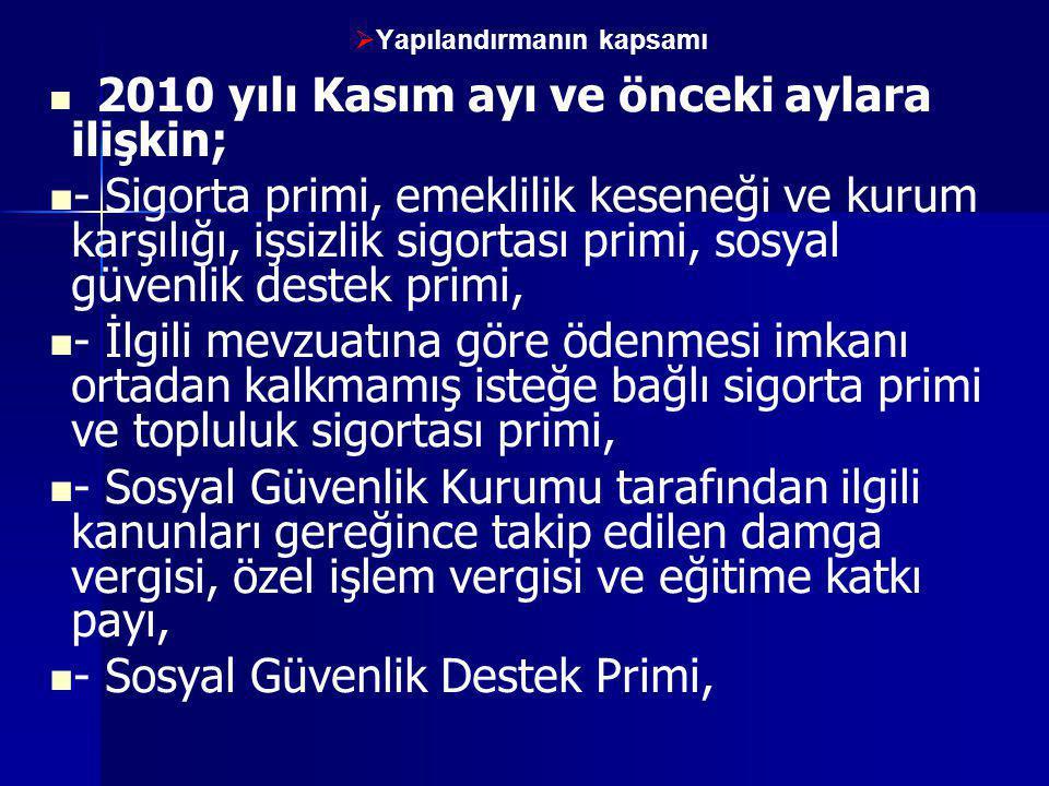 28.06.2014www.resulkurt.com77  Kapanan işyerlerinin 50 TL'ye kadar olan borçları silinecek  5510 sayılı Kanun kapsamından çıkarılan işyerlerine ilişkin olup işyerine ait borcun tamamının ödeme süresi 31/12/2010 veya önceki bir tarihe ilişkin olduğu halde ödenmemiş sigorta primi, işsizlik sigortası primi, sosyal güvenlik destek primi ve idari para cezası asılları toplamı 50 Türk Lirasını aşmayan alacaklar ile tutarına bakılmaksızın bu alacaklara bağlı gecikme cezası ve gecikme zammı gibi fer'ilerinin ve aslı ödenmiş olan fer'i alacaklardan tutarı 100 Türk Lirasını aşmayanların tahsilinden vazgeçilir.