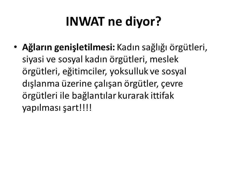 INWAT ne diyor.