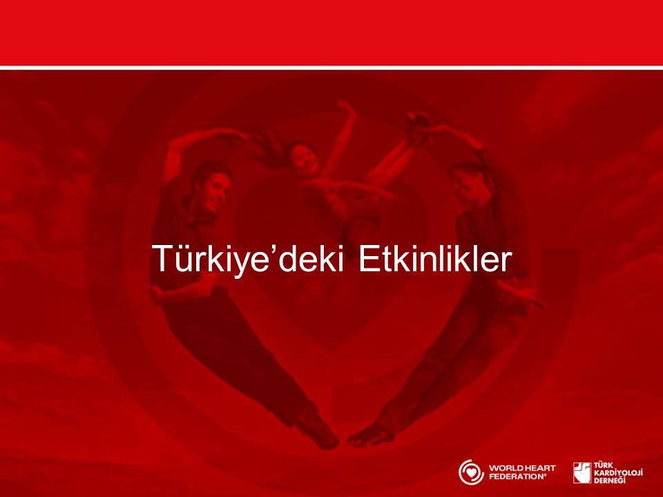 Türkiye'deki Etkinlikler