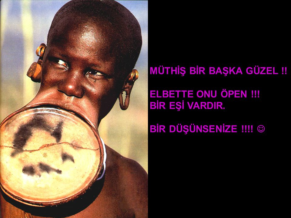 ELBETTE ESTETİKTEN/GÜZELLİKTEN BAHSEDİP DE DUAYENLERE SAYGI SUNMAMAK OLMAZ... !!!