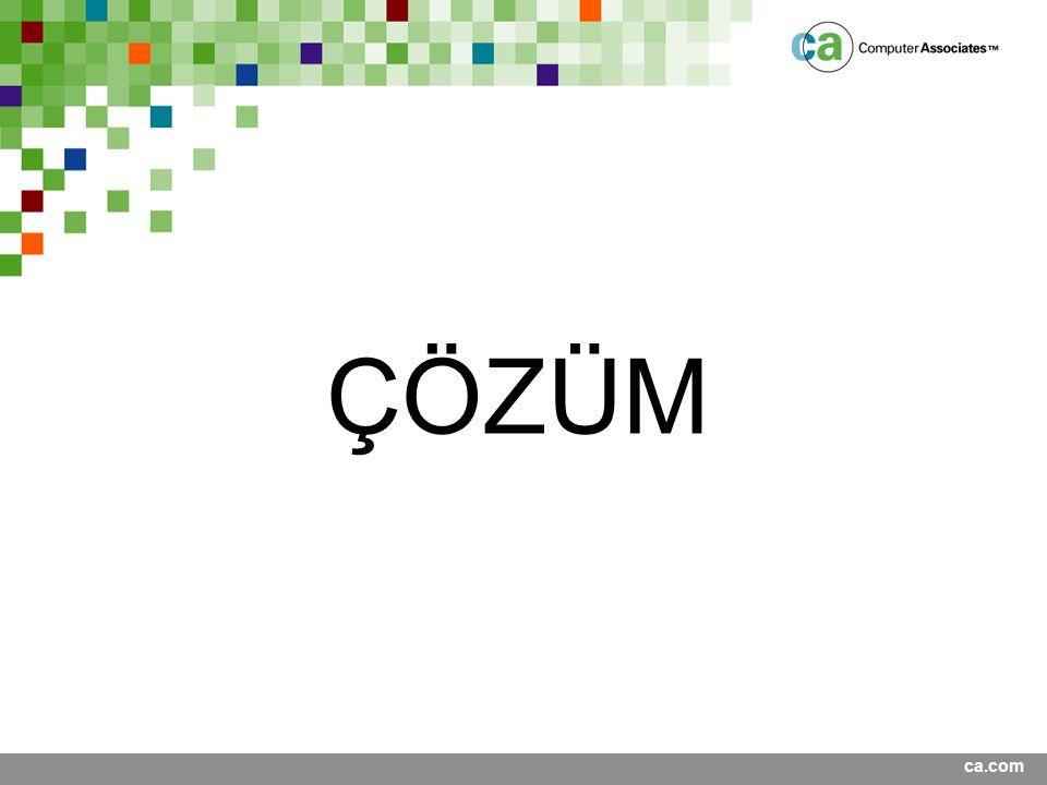 ca.com ÇÖZÜM