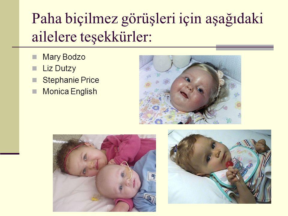 Paha biçilmez görüşleri için aşağıdaki ailelere teşekkürler:  Mary Bodzo  Liz Dutzy  Stephanie Price  Monica English