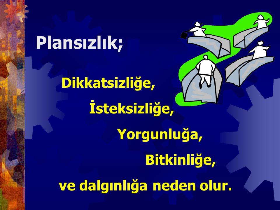 Plan Nedir? n Plandan kasıt, sınav gününe kadar hangi dersin gününe kadar hangi dersin hangi zaman diliminde ve hangi zaman diliminde ve nasıl halledi