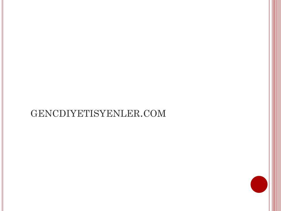 GENCDIYETISYENLER. COM