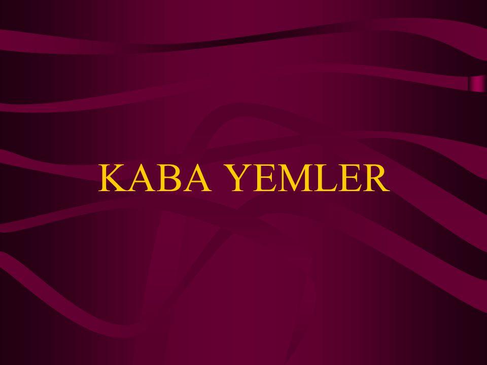 KABA YEMLER