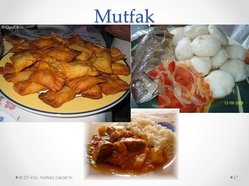 Mutfak © 2014 by Nafissa Zakari W.27