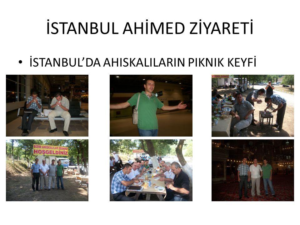 İSTANBUL AHİMED ZİYARETİ • İSTANBUL'DA AHISKALILARIN PIKNIK KEYFİ