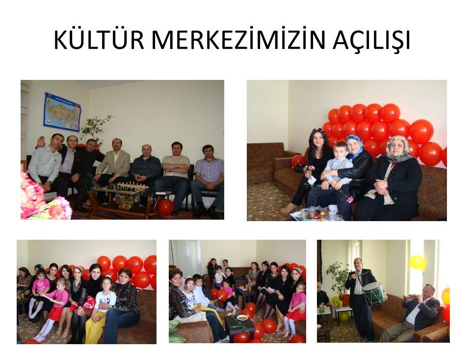KÜLTÜR MERKEZİMİZİN AÇILIŞ DEĞERLENDİRMESİ •M•Merkezimizin açılışına katılanlardan çok güzel ve olumlu tepkiler aldık.