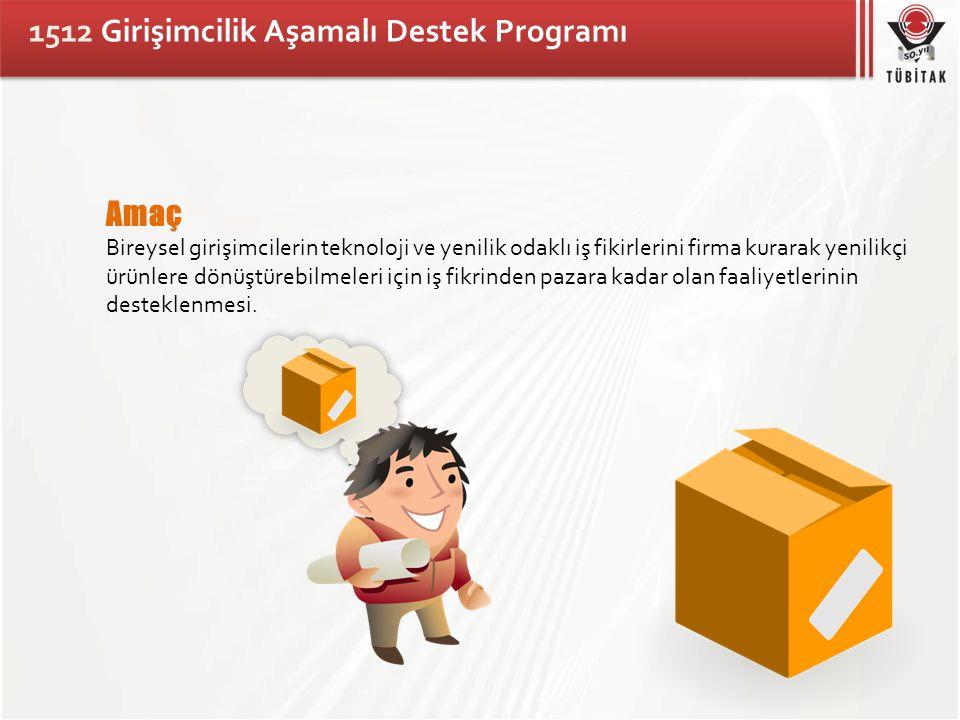 1512 Girişimcilik Aşamalı Destek Programı Kimler Başvurabilir.