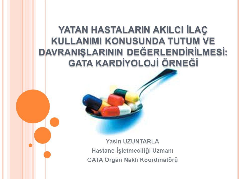 GİRİŞ Dünya Sağlık Örgütü, 1985-Nairobi'de akılcı ilaç kullanımını (AİK) 'hastaların ilaçları klinik gereksinimlerine uygun biçimde, kişisel gereksinimlerini karşılayacak dozlarda, yeterli zaman diliminde, kendilerine ve topluma en düşük maliyette almaları için uyulması gereken kurallar bütünü' Türk Tabipler Birliği; gerektiği anda, gerektiği kadar, gereken formda ve maliyet/etkililik analizi yapılmış uygun ilacın verilmesi olarak tanımlanmıştır.