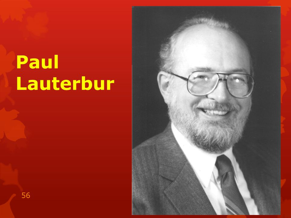 Paul Lauterbur 15.05.2014 56
