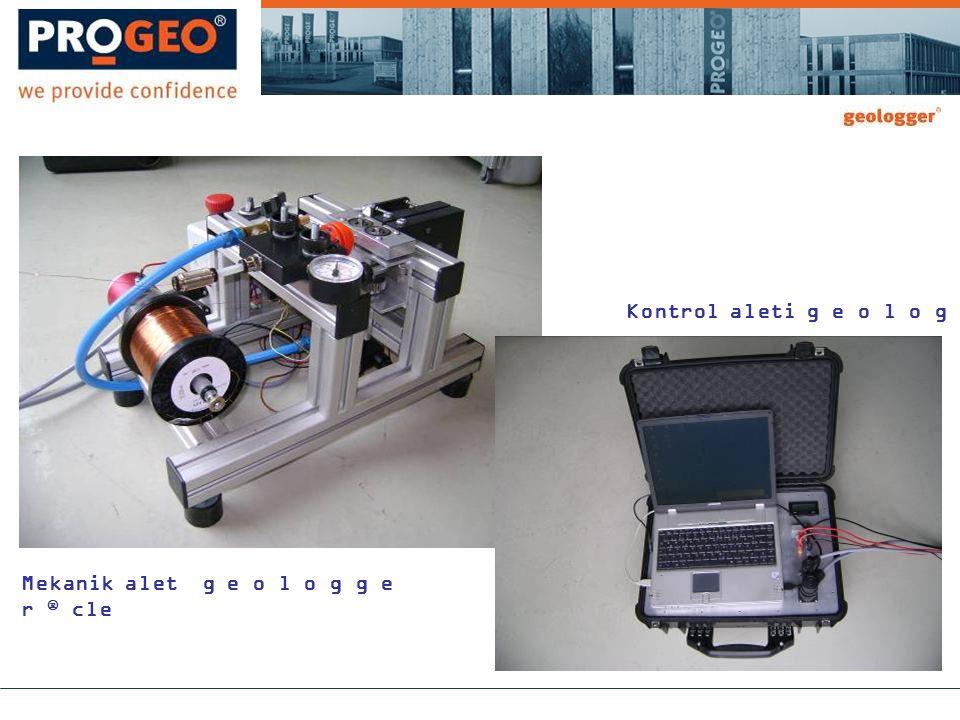 Mekanik alet g e o l o g g e r  cle Kontrol aleti g e o l o g g e r  cle
