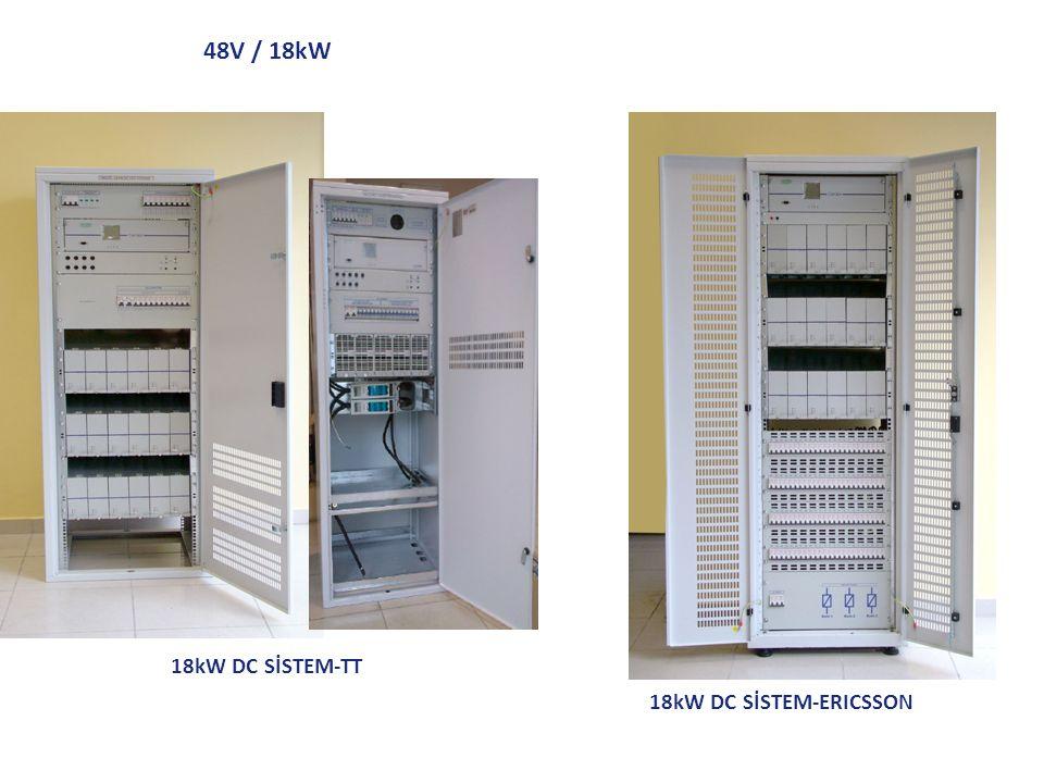 48V / 18kW 18kW DC SİSTEM-TT 18kW DC SİSTEM-ERICSSON