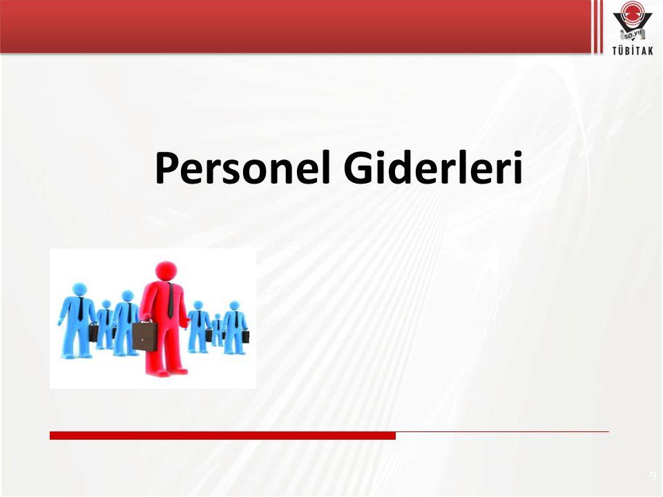 9 Personel Giderleri