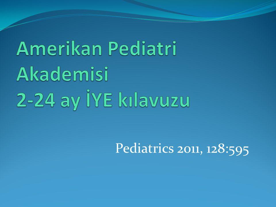 Pediatrics 2011, 128:595