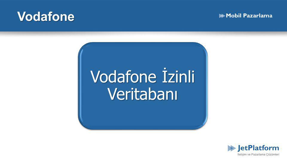 Vodafone İzinli Veritabanı Vodafone