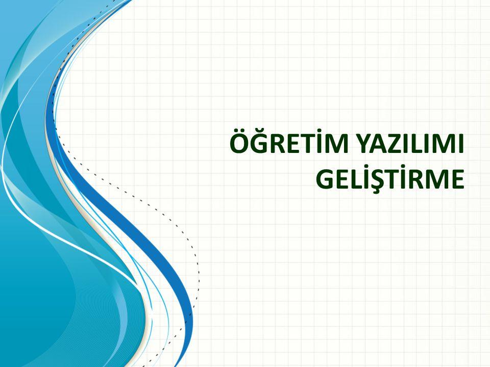 E-öğrenme • Elektronik ortam aracılığı ile yapılan öğretim.