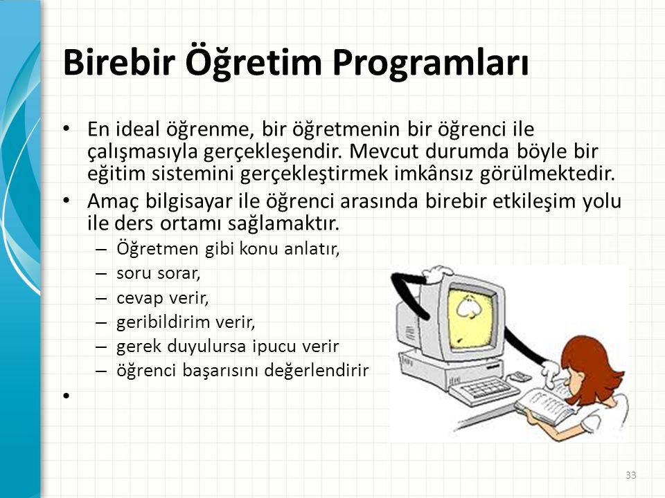 Alıştırma ve Uygulama Programları • Çeşitli Örnek Programlar-Projeler: • http://www.littlefishsw.co.uk/card/functionm achine.html • http://www.horton.