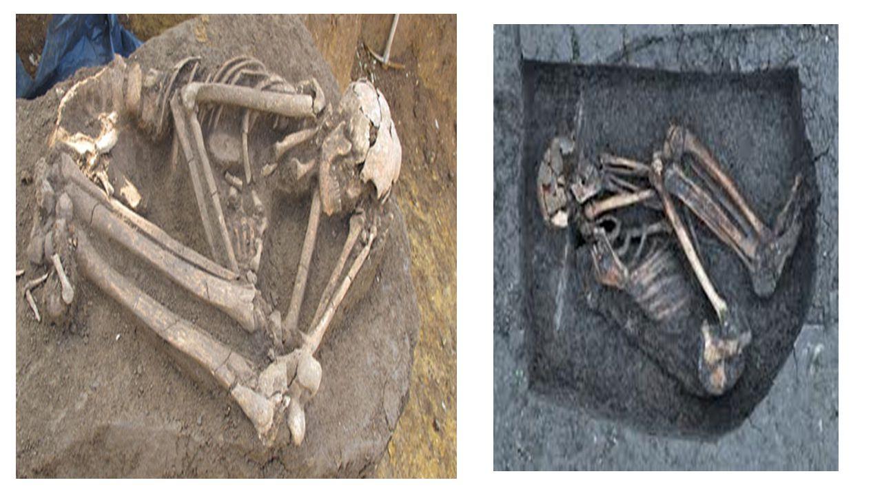 • Neolitik Çağ'da orak biçimli aletler ve tahılları işlemede kullanılan öğütme taşları, taş havalar ve dibekler yapılmıştır.