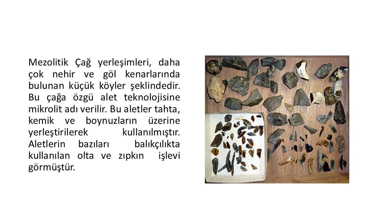 Epipaleolitik • Günümüzden yaklaşık 12 bin yıl önce, Ortadoğu ve Doğu Akdeniz çevresinde başlayan bu kültür evresi, bu bölgedeki Neolitik Çağ'a öncülük etmiştir.