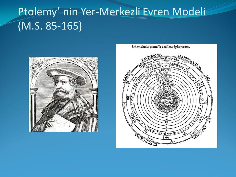 Ptolemy' nin Yer-Merkezli Evren Modeli (M.S. 85-165)