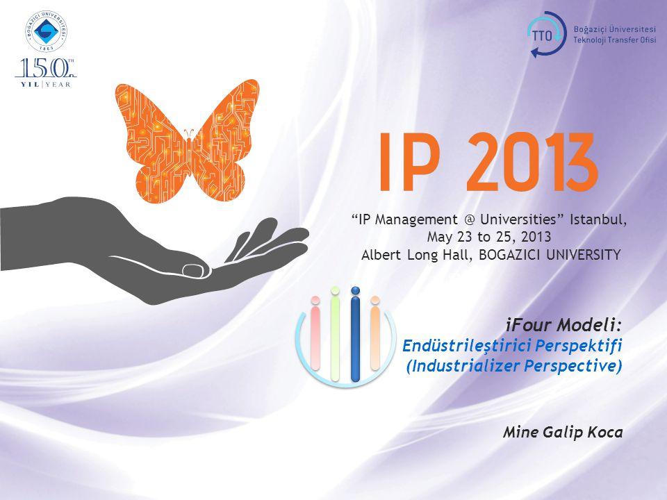 IP Management @ Universities Istanbul, May 23 to 25, 2013, BOGAZICI UNIVERSITY Indusrtializer 2 iFour Office I nvestor I ncubator I nventor I ndustrializer Kendini Değerlendirme (Self Evaluation) • Bireyler • Girişimciler • Şirketler • Bireyler • Girişimciler • Şirketler
