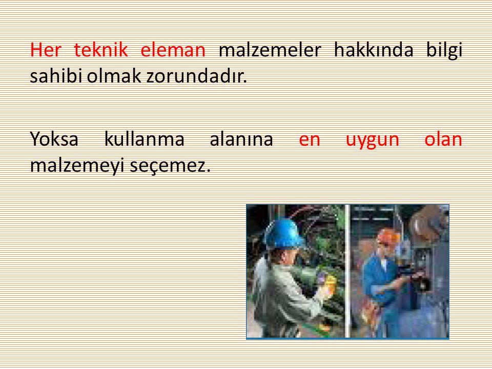 Malzeme seçimi niçin önemli.1. Farzedelim Türkiye'den Amerika'ya konserve ihraç edelim.