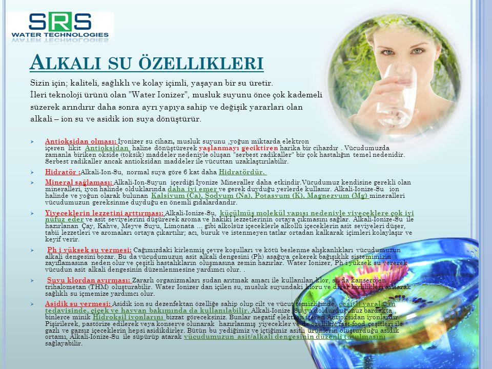 R EVERSE OSMOSIS NEDIR Ters osmos teknolojisi gelen suyun kirletici ve zararlı bileşenlerinden ayırıp tamamıyle saf ve sağlıklı su üreten ve dünyaca kullanılan arıtma teknolojisidir.