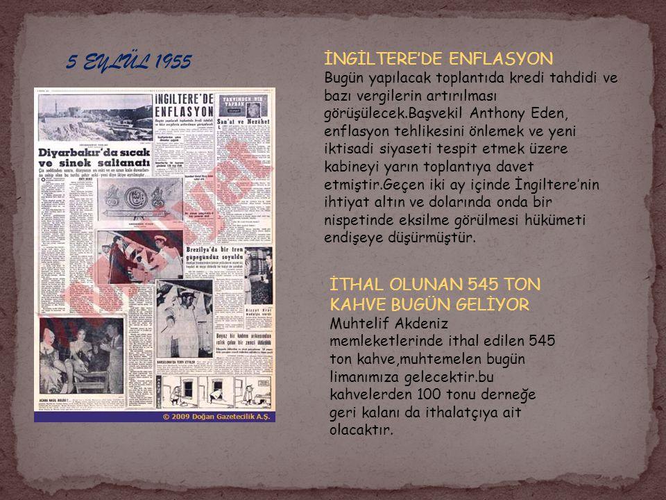 25 EYLÜL 1955 YOL KONGRESİ YARIN AÇILIYOR Kongreye 500 den fazla delegenin iştirak etmesi beklenmektedir.Türk delegasyonu 100 kişiden olacaktır.