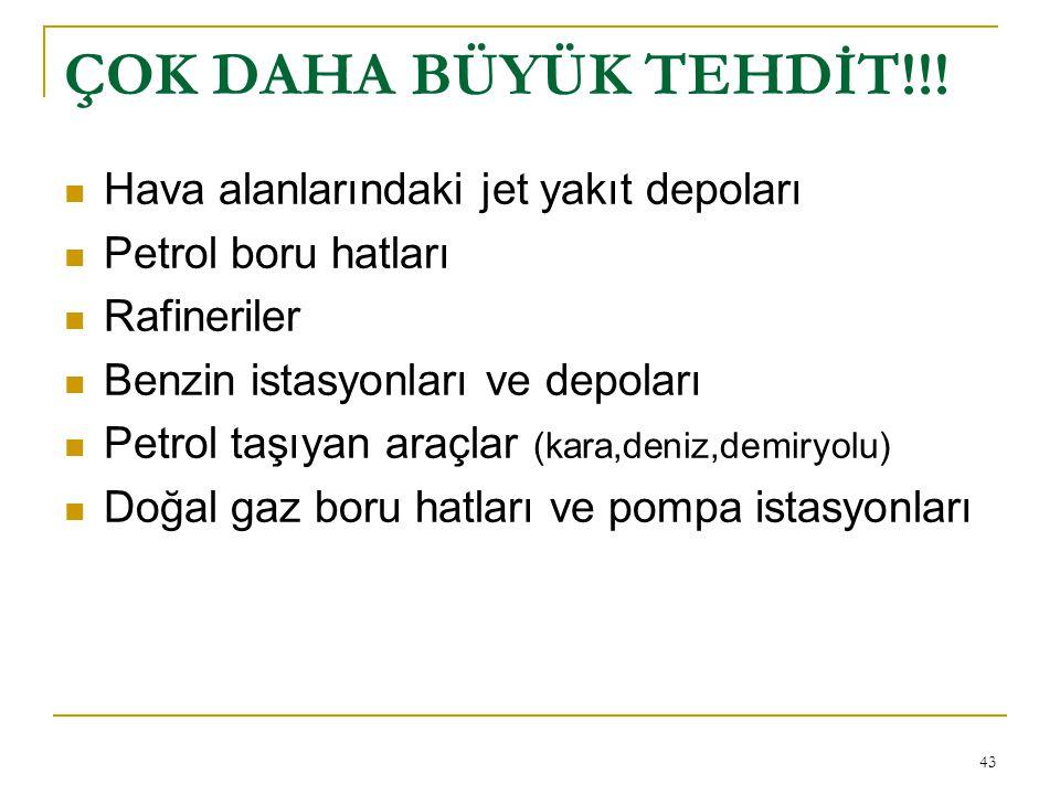43 ÇOK DAHA BÜYÜK TEHDİT!!.